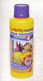 SERA marin component 4 trace elements Kationics